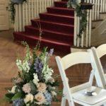 ceremony decor at Allerton Mansion