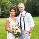 blush roses, cream roses, wedding bouquet, blush & cream wedding bouquet