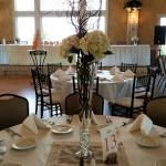 tall centerpiece arrangement, reception centerpiece decor