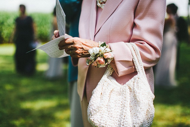 Grandmother's Wrist Corsage