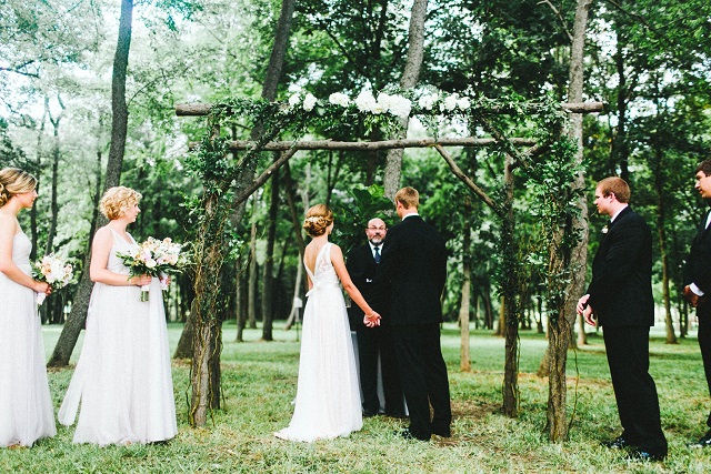 Rustic Wedding Pergola
