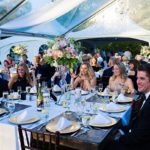 clear top tent, wedding reception decor