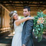 Big Garden Style bridal bouqet