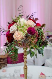 tall centerpiece arrangement
