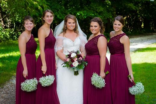 Wine Wedding Colors