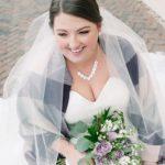 wedding bouquet, purple shades of flowers, purple bouquet