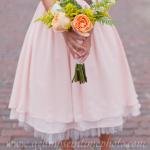Juliet garden rose wedding bouquet