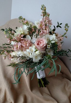 Fragrant Wedding Bouquet