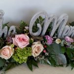 Head Table decor, floral spray