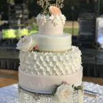 wedding cake, elegant cake stand