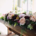 Altar decor, wedding flowers