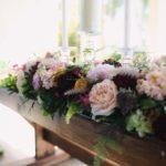 Altar decor, wedding flowers