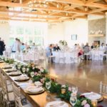 Pear Tree Estate, reception decor