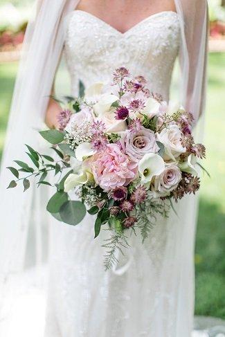 Bridal bouquet, wedding flowers, blush wedding