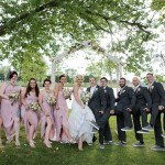 Blush Bridesmaids colors, blush wedding flowers, blush wedding bouquet