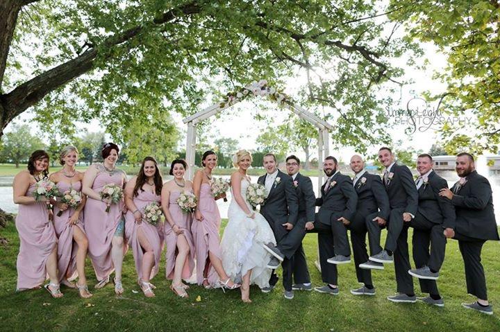 Blush Bridesmaids colors