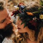 Boho, floral crown