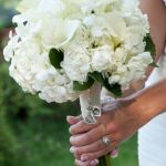 white wedding bouquet, white bridal bouquet, white calla wedding bouquet