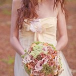 pastel wedding flowers