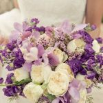 lavender and white wedding flowers