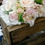 blush rose wedding flowers
