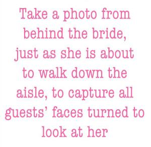bridedowntheaisle
