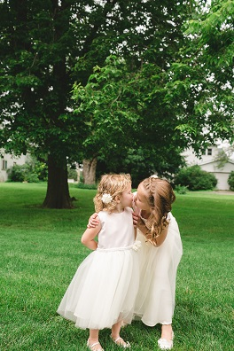 flower girl, flower girl dress