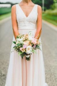 Bridal Bouquet, Garden Style Bouquet