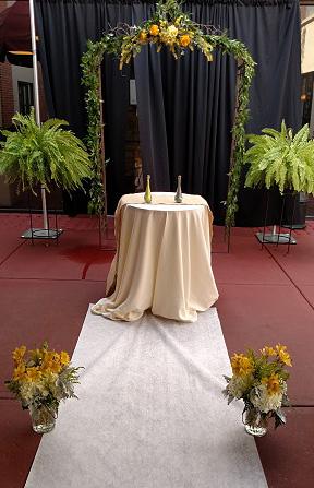 Wedding Backdrop, Aisle decor