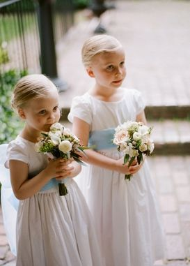 flower girl bouquets, small posy bouquets