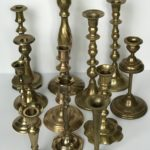 Assorted Vintage Candlesticks