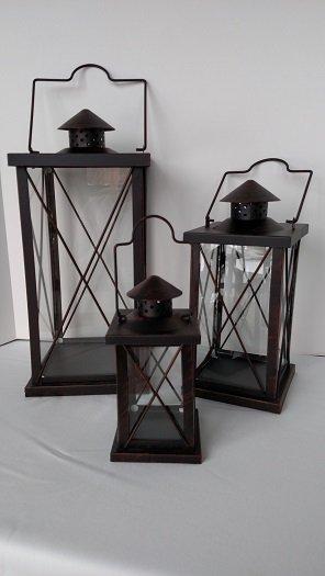 Bronze lantern sets