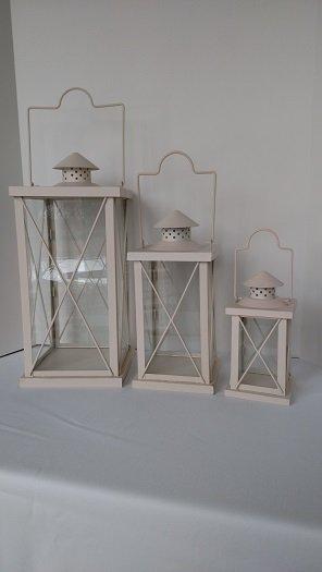 Cream Lantern Sets