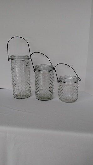 Hobnail Jars