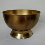Antique finish design bowl