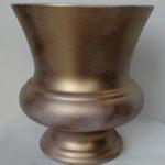 Antiqued Gold Urn