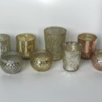 Mercury Glass Votive Holders
