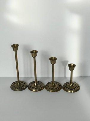 Vintage Candlestick Set of 4