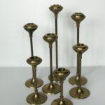 Vintage Candlestick Set of 7