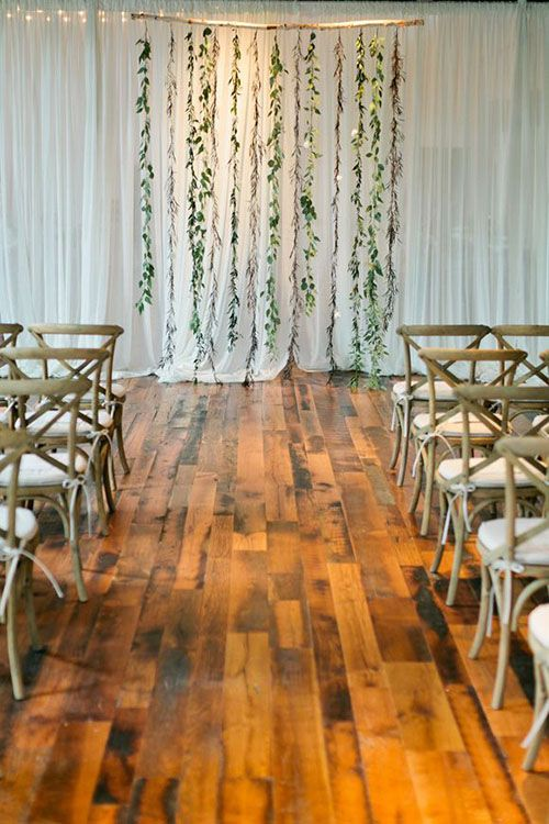 Garland Wedding Backdrop