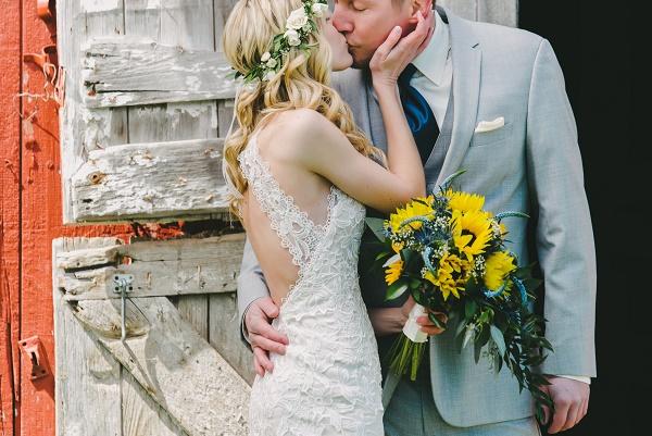 Sunflower bouquet, sunflower wedding