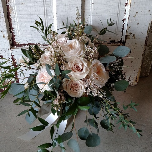 Blush Flowers, Blush Bouquet, Blush Wedding