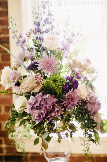 Altar arrangement, wedding decor, wedding flowers