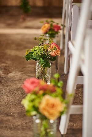 aisle decor, wedding decor
