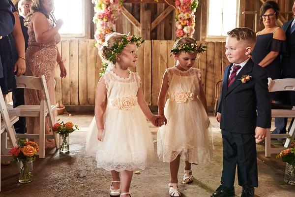 Central Illinois Barn Wedding