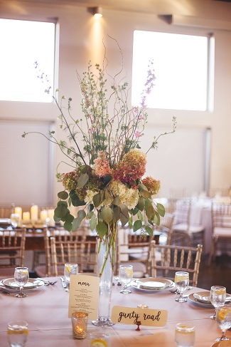 Tall centerpiece design