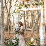 Vintage Wedding Arch, Wedding Backdrop Decor