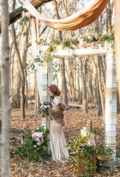 Vintage Wedding Arch, Wedding Backdrop Decor