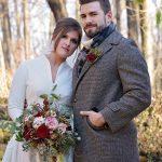 Winter Wedding , rustic wedding