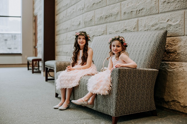 Flower Girls, flowergirl crowns